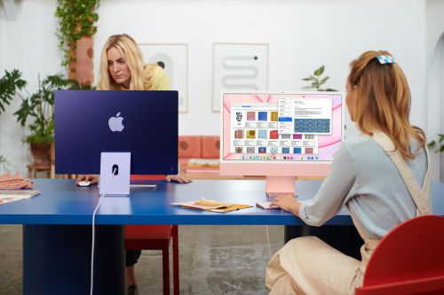 Apple unveils new brightly colored iMacs, iPads and more
