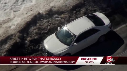 Man charged with OUI in hit-and-run