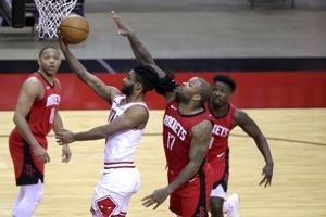 A 46-point 3rd quarter boosts the Chicago Bulls to a 120-100 victory over the Houston Rockets, their 4th win in 5 games