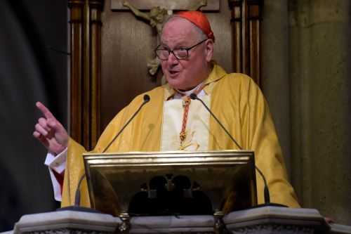 Cardinal Dolan reminds women abortion isn't only choice after new NY law