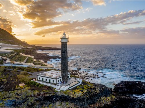 You can now sleep inside a lighthouse complete with luxury suites and an infinity pool on a beautiful Spanish island