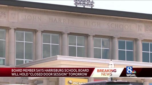 Harrisburg School Board will hold closed-door session Sunday