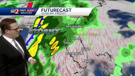 Friday to potentially bring severe weather to Central Florida
