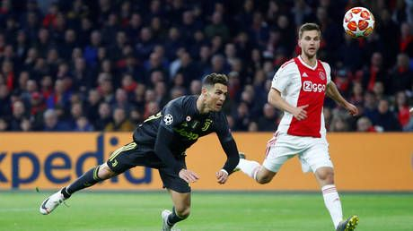 'The best leap in football': Cristiano Ronaldo stuns Ajax with 23rd headed Champions League goal