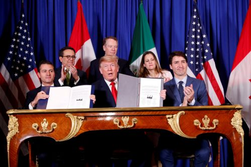 Trump is rolling back steep tariffs on metal from Canada and Mexico