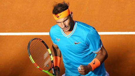 Rafa's revege! Nadal serves Djokovic payback for Aus Open final demolition with Rome Masters win