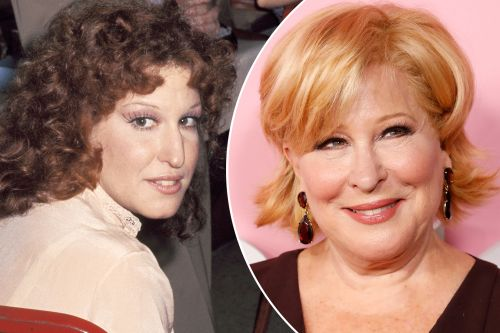 Birthday girl Bette Midler, 75: then and now