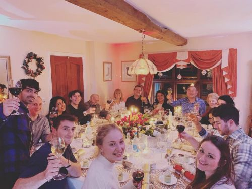 Sophie Turner hosted Christmas for her famous future in-laws in England - see the photos