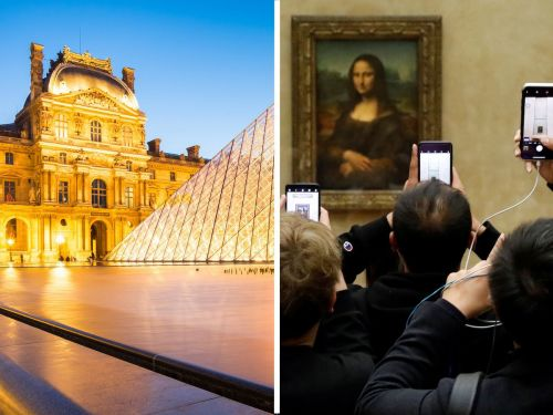 Disappointing photos of 5 iconic attractions in Paris, from the overcrowded Louvre to a legendary café now called a 'tourist trap'