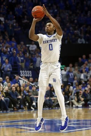 Kentucky point guard Ashton Hagans will enter NBA draft