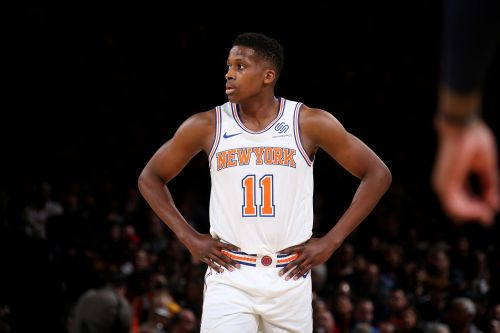 This could be Frank Ntilikina's first step towards Knicks comeback