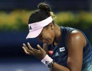 No. 1 Naomi Osaka loses 1st match since splitting from coach