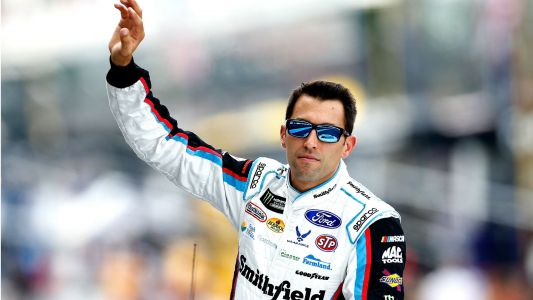 NASCAR starting lineup at Atlanta: Aric Almirola wins pole; Ricky Stenhouse Jr. starts second