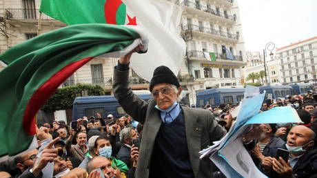 Protesters rally in Algerian capital, marking rebirth of popular Hirak uprising that ousted President Bouteflika in 2019