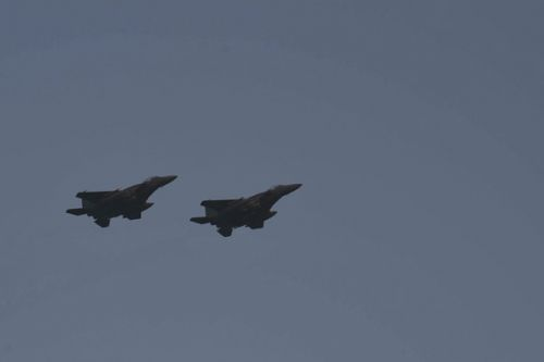 Strike Eagles participate in joint integration exercise with Navy