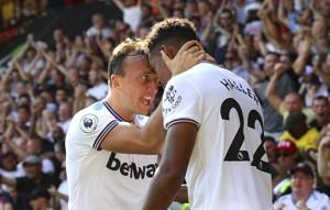 Haller double earns West Ham 3-1 win at struggling Watford