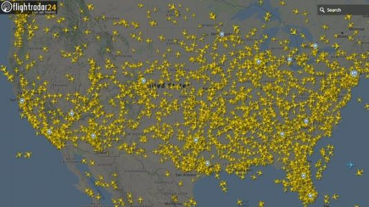 Coronavirus: U.S. Still Seeing Thousands Of Flights, Despite A Drop In Air Travel