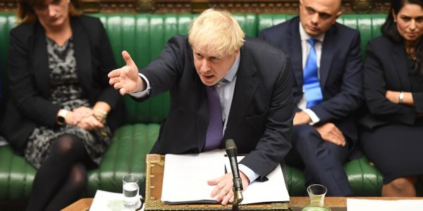 Boris Johnson's Brexit bill backed by Parliament in major boost for his plan to leave the EU