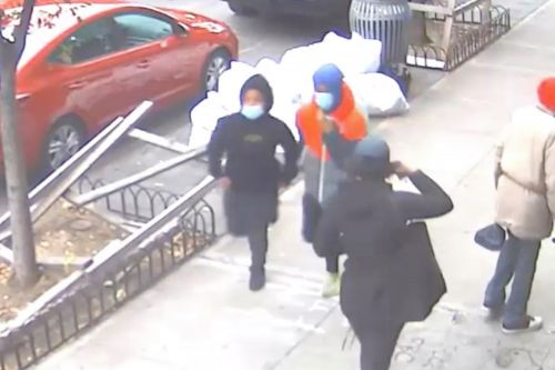 Suspect in shooting of 70-year-old woman seen on surveillance video