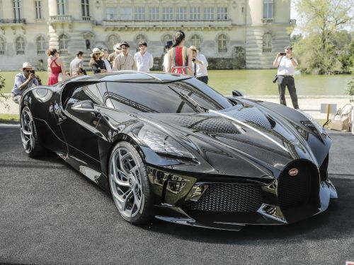 Bugatti's new $18.7 million supercar was purchased by an anonymous buyer, making it the most expensive new car ever sold