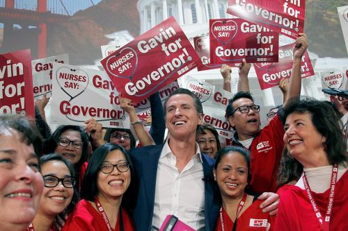 Does Gavin Newsom have the answer to Democrats' health care fights?