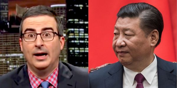 China's largest social network has blocked all mentions of John Oliver after the talk show host attacked Xi Jinping