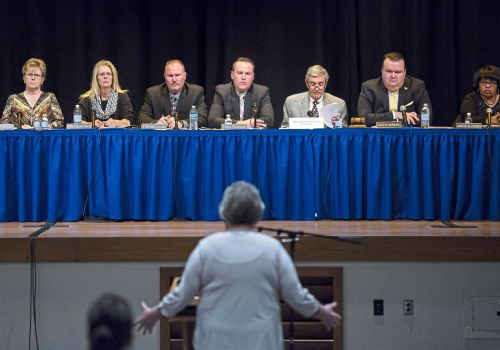 Outgoing West Mifflin school director delivers warning to board members