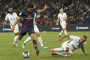PSG prepares for Liverpool with Saint-Etienne thrashing