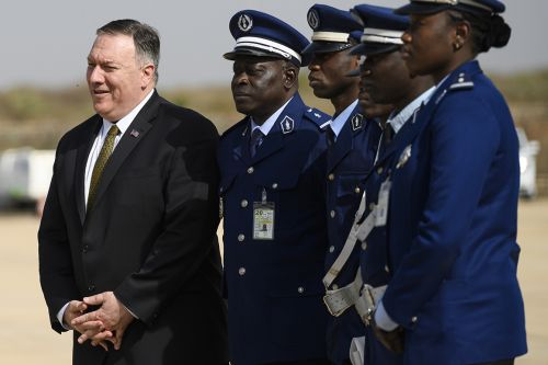 Mike Pompeo starts tour of Africa