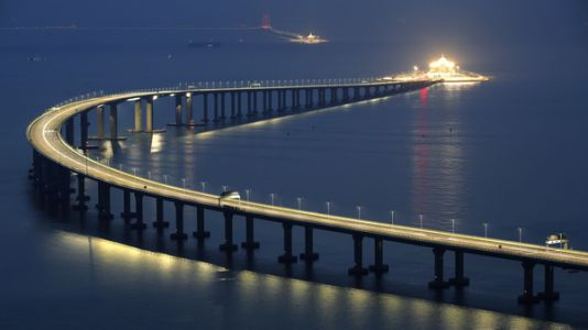 China To Open Mega-Bridge And Tunnel: 34 Miles Across The Water