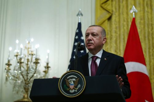 Turkey's Erdogan showed propaganda film about Kurds in the Oval Office: report
