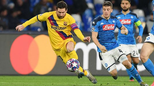 What channel is Barcelona vs. Napoli on today? TV schedule, live stream to watch Champions League