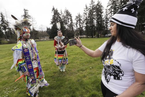 Drums, dancers livestream as coronavirus moves powwows online