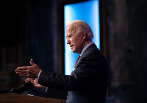 Biden sees 'bleak future' without aid bill