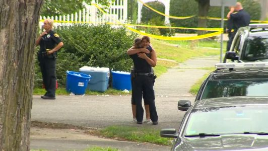Photos: Weymouth police officer, woman shot and killed