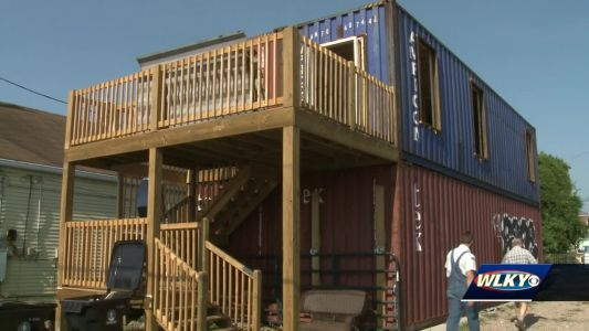 Developer turns shipping containers into functional homes