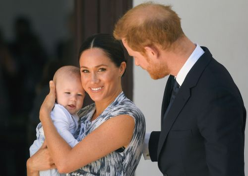 Meghan Markle and Prince Harry share never-before-seen Archie photo