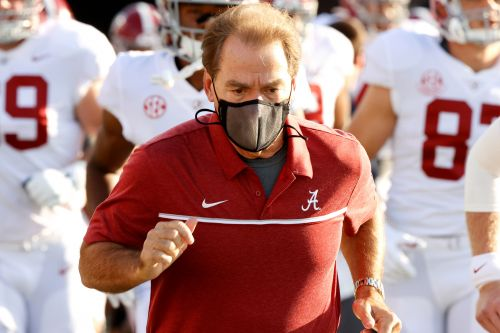 Nick Saban tests positive for COVID-19 again