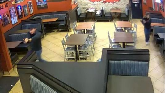 Newlywed Police Officers Cut Date Night Short To Stop Armed Robber At Restaurant