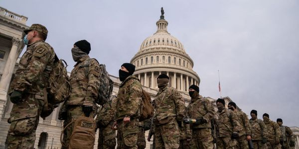 The National Guard is reportedly planning to ask troops to remain deployed at the Capitol until mid-March