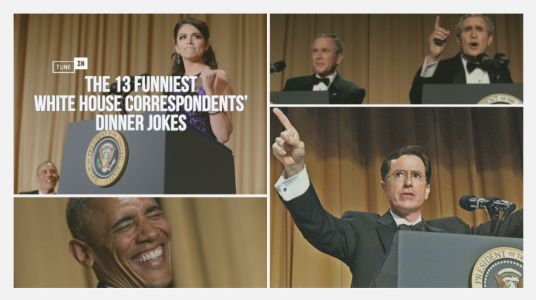 13 Of The Funniest White House Correspondents' Dinner Jokes