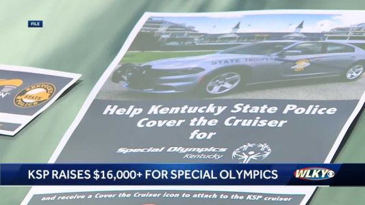 Kentucky State Police raise $16,000 for Special Olympics