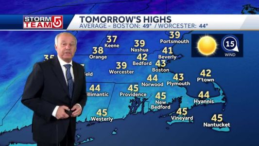 Video: Wind chill to create bitter feel Tuesday morning
