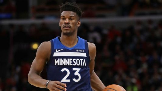 Jimmy Butler booed by Timberwolves fans during home-opening introductions