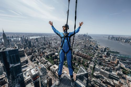 NYC's Hudson Yards debuts world's highest outdoor building climb