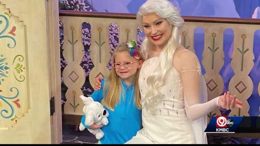 Girl known as 'Super Glue Baby' gets dream trip to Disney World