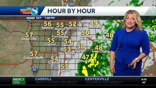 Videocast: Soggy Saturday for Some
