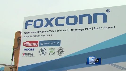 Foxconn didn't create enough Wisconsin jobs in 2018 to immediately claim state tax credits