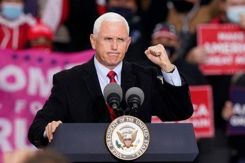 Vice President Mike Pence cast his early vote in Indiana