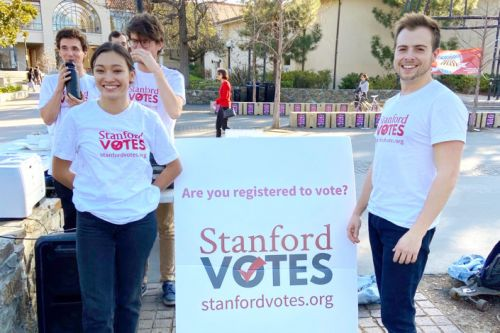 StanfordVotes urges students to turn out on Super Tuesday